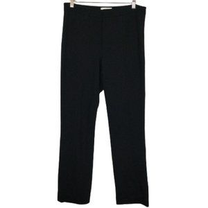 Vince Tapered Cropped Trousers in Black